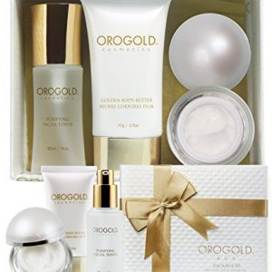 OROGOLD 24K Luxury Sample Box for Women - Travel Skin Care Set