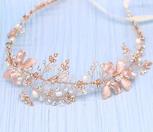 Braveamor Luxury Bridal Headpieces Handmade Wedding Headbands