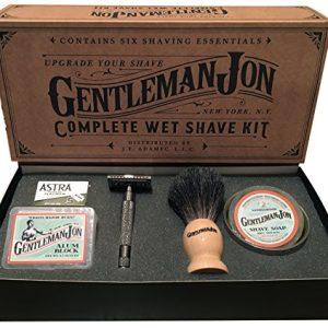 Gentleman Jon Complete Wet Shave Kit | Includes 6 Items