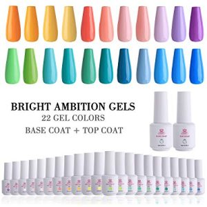 Makartt 24 Gel Nail Polish Sets UV LED Gel 8ml 22 Bright Ambition