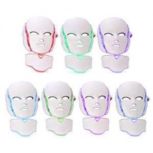 LED Photon Therapy Mask with 7 Color Light Treatment