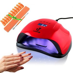 LuxeUp UV Nail Lamp Dryer 54W Upgraded Design