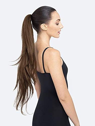PRETTYPARTY Ruby Long Layered Pony Tail on Band Hair Extension Accessory