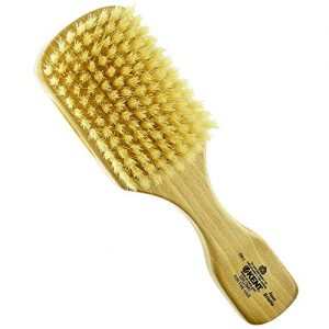 Kent OS11 Dual Timber Rectangular Club Hair Brush. Beautiful Satin