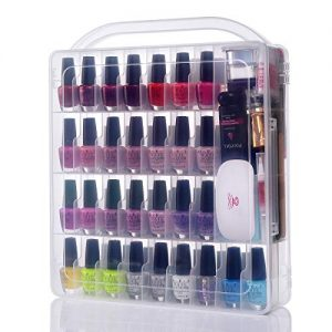 Makartt Large Nail Polish Organizer Storage Holder Case