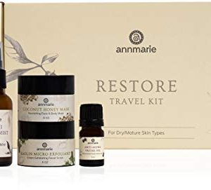 Annmarie Skin Care Restore Travel Kit - Anti-Aging, Mature Skin Care Set