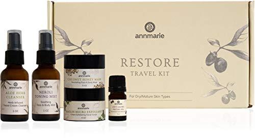 Annmarie Skin Care Restore Travel Kit - Anti-Aging, Mature Skin Care Set