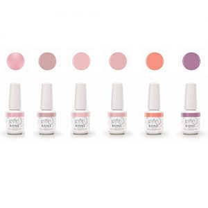 Gelish Mini 9 mL Soak Off Gel 6 Color Nail Polish Set
