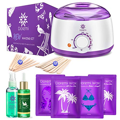 Doremi New Waxing Kit, Painless Hair Removal Home Kit