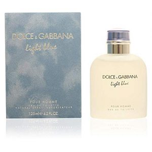 Dolce & Gabbana Eau de Toilettes Spray, Light Blue, 4.2 Fluid Ounce For Men