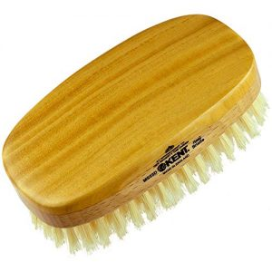 Kent Finest Men's Military Style Dual Timber Hair Brush