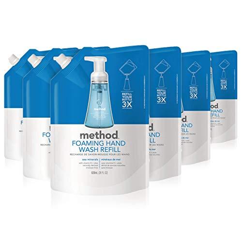 Method Foaming Hand Soap Refill, Sea Minerals