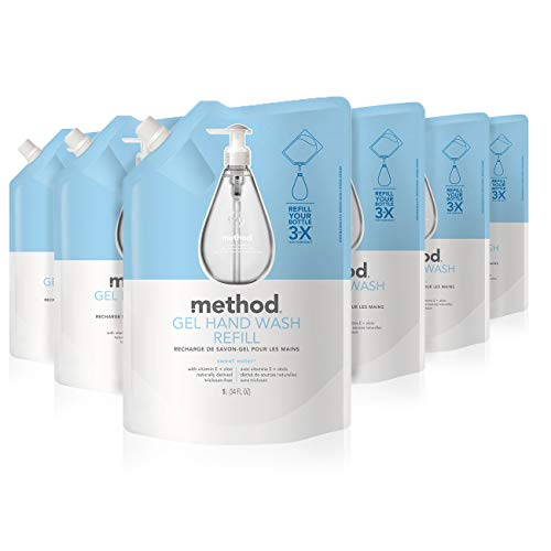 Method Gel Hand Soap Refill, Sweet Water