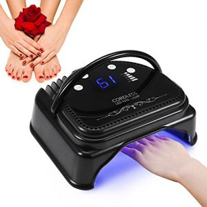 ZJchao 64W Nail Polish Dryer, 32pcs LED Professional Gel Nail Lamp