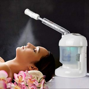 Facial Steamer, with Extendable Arm Ozone Table Top Mini Spa Face