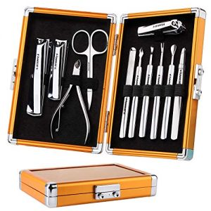 FAMILIFE L05 Stainless Steel 11 In 1 Manicure Pedicure Set