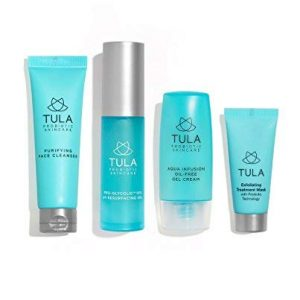 TULA Probiotic Skin Care Clear Complexion Kit | Travel-friendly Set