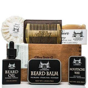 Maison Lambert Ultimate Beard Kit Contains: Organic Beard Balm