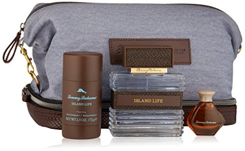 Tommy Bahama Island Life for Him Gift Set With Travel Kit