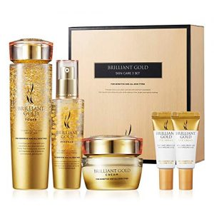 A.H.C Brilliant Gold Skin Care Set- Moisturizing Whitening