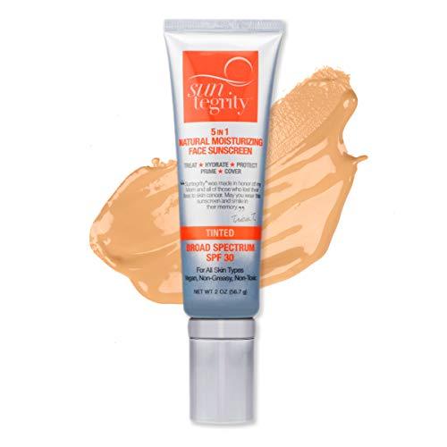 """Suntegrity -""""5 in 1"""" Natural Moisturizing Face Sunscreen"""