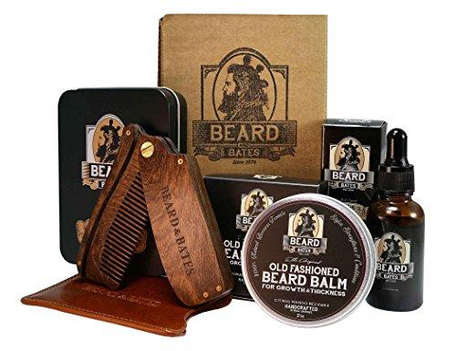 Beard & Bates   Grooming Essentials Beard Kit   Premium 19th Century Beard Balm
