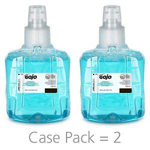 GOJO LTX-12 Foam Handwash, Pomeberry Fragrance, 1200 mL Green Certified