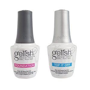 Gelish Dynamic Duo Foundation Base & Top It Off Sealer Soak Off