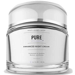 Pure Biology Premium Night Cream Face Moisturizer