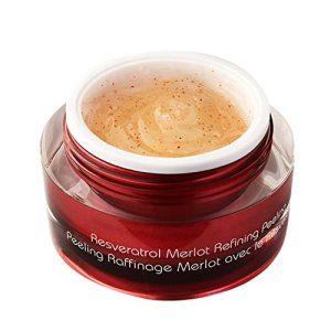 Vine Vera Resveratrol Merlot Peeling Gel, Paraben Free Luxury Face Scrub