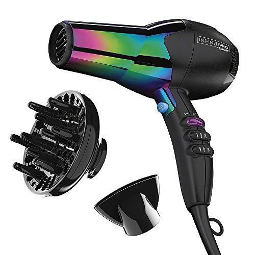 Infinitipro By Conair Ion Choice Hair Dryer, Rainbow Finish
