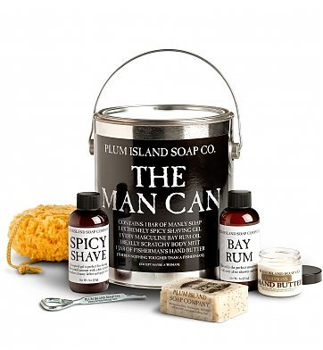 GiftTree The Man Can Grooming Kit by Plum Island Soap Co