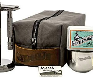 Gentleman Jon Deluxe Wet Shave Kit | Includes 8 Items