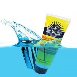 Waterproof Sunscreen Sport SPF 36 Sweat Proof Sunblock Safe