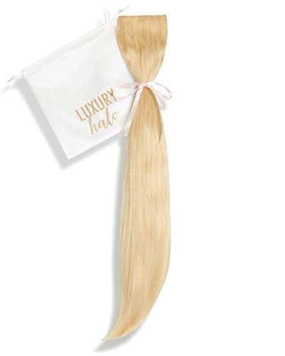 """Halo Fit + Clip-in Extensions (16""""-18"""" Inch, 120 Grams, 24 Golden Blonde)"""