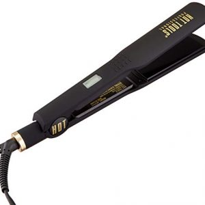 HOT TOOLS Professional Black Gold Digital Flat Iron
