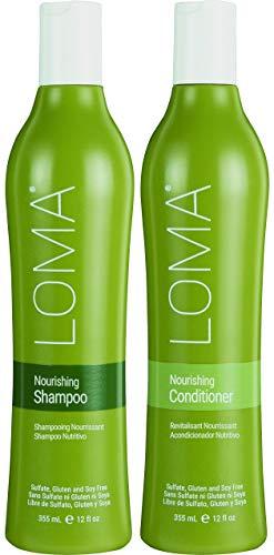 Loma Hair Care Nourishing Shampoo Nourishing Conditioner Duo