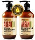 Moroccan Argan Oil Shampoo and Conditioner SLS Sulfate Free Organic Gift Set