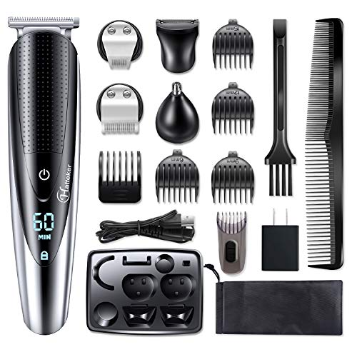 Hatteker Mens Beard Trimmer Grooming kit Hair trimmer