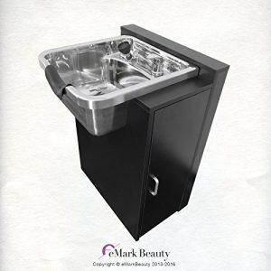 Polished Stainless Steel Shampoo Bowl Sink Spa Salon Equipment