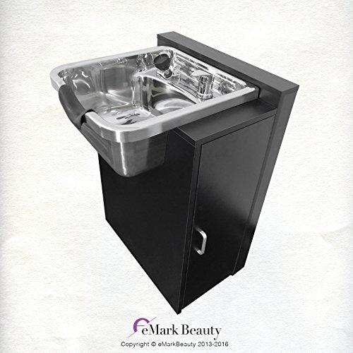 Polished Stainless Steel Shampoo Bowl Sink Spa Salon Equipment