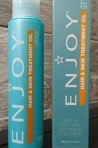 ENJOY Hair and Skin Treatment Oil (SET of Two 3.4 OZ)
