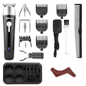 Abbicen New 5 in 1 Multi-functional Beard Trimmer Men's Grooming Kit