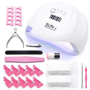 UV Led Nail Lamp 54W Gel Nail Light Curing Lamp Nail Dryer