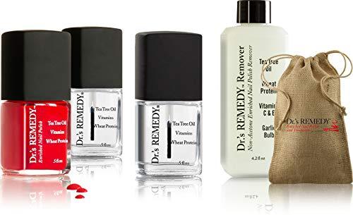 Dr.'s REMEDY Enriched Nail Polish, SMART START Nail Kit