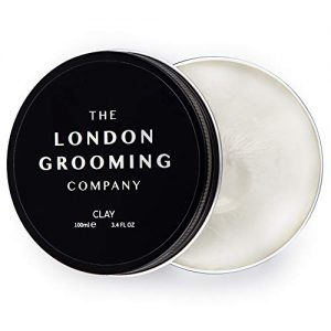 The London Grooming Company Clay for Men - Firm Hold and Dry Matte Finish