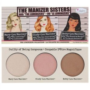 theBalm Manizer Sisters Palette, Multi-Tasking Highlighters