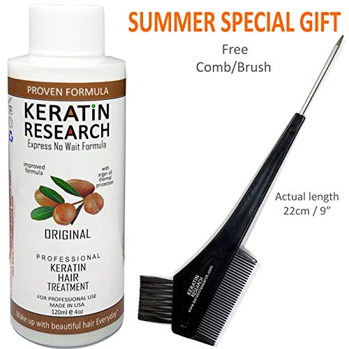 Keratin Blowout Hair Treatment Complex Brazilian 120ml Professional Results