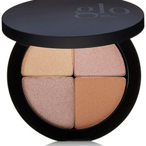 Glo Skin Beauty Shimmer Brick in Luster | Face Highlighter Palette Set