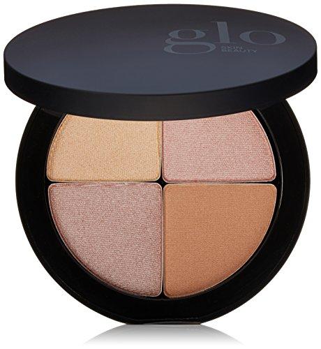 Glo Skin Beauty Shimmer Brick in Luster   Face Highlighter Palette Set